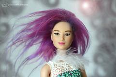 björk - new wig (photos4dreams) Tags: photos4dreams p4d photos4dreamz barbie doll lea asian dress mattel toy barbies girl play fashion fashionistas outfit kleider mode bjork wig perücke wool björk