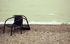 Behind The Obvious :  Knock Out (Storyteller.....) Tags: knock out beach chairs vhair sea wind