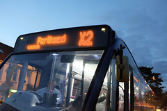 Late Bus (kevin Akerman) Tags: bus porthcawl night elvis festival