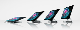 Microsoft Surface Pro 6, Surface Laptop 2, and Surface Studio 2