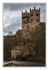 Durham Cathedral (Seven_Wishes) Tags: durham countydurham canoneos5dmarkiv canonef70200mmf4lisii outdoor photoborder building river water millhouse church cathedral durhamcathedral religion listedbuilding 2019 newcastleupontyne tyneandwear uk edoliverphotography views15k