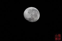 Setting Gibbous Moon (DragonSpeed) Tags: 28thkitsilanoscoutgroup 28thvancouverscoutgroup beachlife jambiani scouts scoutscanada tanzania tanzaniaexpedition2018 venturerscouts venturers zanzestbeachbungalows zanzibar astronomy astrophotography lunarphotography moonset waninggibbous zanzibarsouthcentral tz