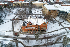 2019 - January - CHS - Snowy Winter Break Sunday-97-HDR.jpg (ISU College of Human Sciences) Tags: building winter forker campus buildings foodsciencebuilding morrill snow lagomarcino ringoflife drone campanile scenic palmer fshn chs mackay beauty