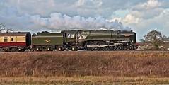 britannia (midcheshireman) Tags: steam train locomotive mainline cheshire 70000 britannia