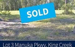 Lot 3 Manuka Parkway, King Creek NSW