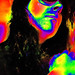 Psychedelic self-portrait