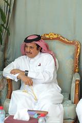 Sheikh Khalifa bin Jassim Al Thani - Chairman of Qatar Chamber (Qatar Chamber) Tags: qatar oman chamber commerce delegation business