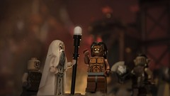 My Fighting Uruk-hai (gdugaucquier) Tags: lotr lordoftherings lego saruman urukhai