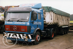 G750DCX MERCEDES POWERLINER 2 1735 HYMAS (Mark Schofield @ JB Schofield) Tags: jim taylor transport road commercial vehicle lorry truck wagon tipper tanker artic eight wheeler haulage contractor bulk haulier tractor unit freight hgv lgv