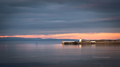 Burghead light... (moraypix) Tags: burghead burgheadharbour sunsetcolours pastelsunset pastelcolours burgheadlight
