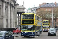 Dublin Bus AV207 (01D10207). (Fred Dean Jnr) Tags: april2005 dublin dublinbus busathacliath dublinbusyellowbluelivery volvo b7tl alexander alx400 collegegreendublin av207 01d10207 dublinbusroute65b
