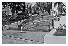 Pentax Auto 110 (1978) (Black and White Fine Art) Tags: pentaxauto1101978 pentax pentaxmini 110format formato110 smallformat formatopequeño escaleras stairs sanjuan oldsanjuan viejosanjuan puertorico bn bw arquitectura arquitecture