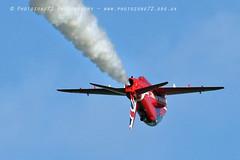 8812 R8 Inverted (photozone72) Tags: raf rafat redarrows reds redwhiteblue hawk scampton lincolnshire aviation aircraft jets canon canon7dmk2 canon100400f4556lii 7dmk2