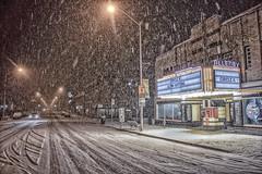 Early morning snow storm in Toronto (A Great Capture) Tags: danforth allenby circlek timhortons snow snowing snowstorm agreatcapture agc wwwagreatcapturecom adjm ash2276 ashleylduffus ald mobilejay jamesmitchell toronto on ontario canada canadian photographer northamerica torontoexplore cityscape urbanscape eos digital dslr lens canon 70d outdoor outdoors outside architecture architektur arquitectura design streetphotography streetscape photography streetphoto street calle night darkness nocturnal dark illuminate lighting road neige schnee