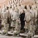 Xi'An: the emperor's tomb and the terracotta warriors - a visitor takes a selfie