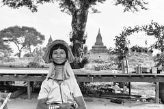 Padaung woman (Laszlo Horvath.) Tags: padaung tribe woman nikon nikond7100 sigma1835mmf18art myanmar burma portraiture portrait blackwhite blackandwhite bw monochrome