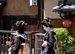 Gion et ses Geishas (Coeur de nomade) Tags: kyoto japon2018 asie asiedelestorientale continentsetpays asia asieorientale jp jpn japan eastasia