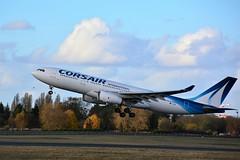 (ORY) Corsair International  Airbus A330  F-HBIL (dadie92) Tags: orly corsair corsairinternational a330 airbus spotting airplane aircraft fhbil takeoff ory nkon 0624 d7100 tamron danieldanel