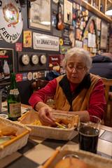 (ekoloskov) Tags: blue yaroslavl russia portrait oldwoman beer cider pub bar frenchfry pentax 31mmlimited 31mm pentax31mmlimited pentaxk1markii people