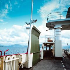 Skye Ferry (jhotopf) Tags: 55mmf45 velvia fujifilmvelvia twinlensreflex tlr c330s mamiya