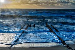 Play with Light (*Capture the Moment*) Tags: 2018 clouds fotoshooting fotowalk himmel insel island landscape september sky sonnenuntergang sonya7miii sonya7mark3 sonya7m3 sonya7iii sonyfe70200mmf28gmoss sonyilce7m3 sunset sylt waves wellen wolken cloudy