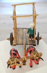 Ox Cart Wood Carvings Mexico Oaxaca (Teyacapan) Tags: carreta yunta bueyes oxcart woodcarvings mexico oaxaca farmer museum crafts folkart