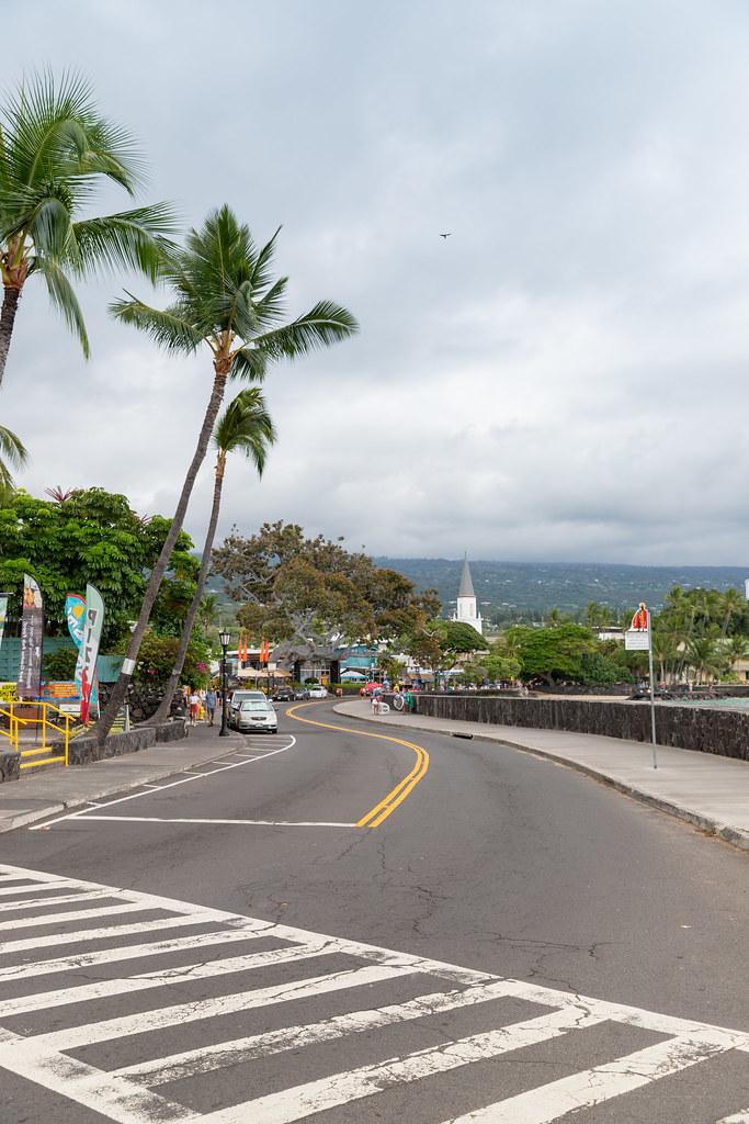 Iron man Laufstrecke Start Alii drive Kailua Kona Big island Hawaii