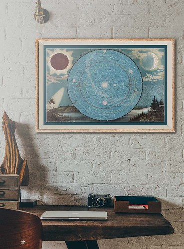 22-Affiche // 50x70cm // Planetary System