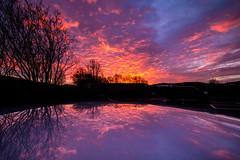 Sunrise_Mallusk_December_2018 (ryan.c.dallas) Tags: sunrise sky landscape landscapes clouds reflection ireland northern canon eos 70d efs 1022mm winter purple pink blue skyline nature