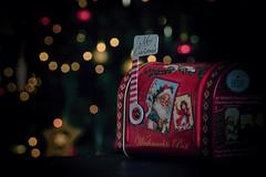 Post for Santa (tucsontec) Tags: post santa weihnachten weihnachtsschmuck weihnachtsstimmung licht light mailbox christmastree christmas christmasmood bokeh xmas