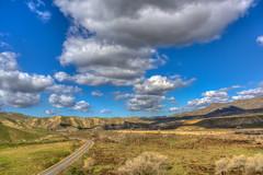 After The Storm (davidseibold) Tags: america bakersfield benaroad california cloud grass jfflickr kerncounty mountain nature photosbydavid postedonflickr road sky unitedstates usa