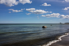 Schweden 08 102-1 (Andre56154) Tags: schweden08 schweden sweden sverige strand beach wasser water himmel sky wolke cloud ufer sea ostsee
