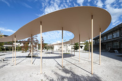 Okayama University, SANAA (davidaewen) Tags: architecture japan okayama university sanaa kazuyo sejima ryue nishizawa