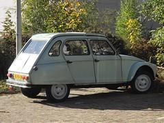 1982 Citroën Dyane 6 (harry_nl) Tags: netherlands nederland 2018 eindhoven citroën dyane 6 jg15lb sidecode4