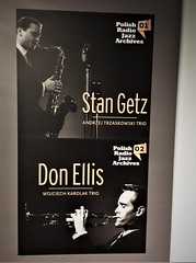 Stan Getz and Don Ellis (roomman) Tags: 2018 warsaw warszawa poland polska capital polish radio studio koncertowe workshop warstaty ken burton kenburton witolda lutoslawskiego stan getz don ellis jazz great star starts saxophone trumpet sax alto archive archives andrzej trzaskowski trio wojciech karolak