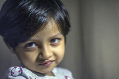 Last Picture of 2018 (Rifat J. Eusufzai) Tags: nikon d7100 50mm portrait dhaka bangladesh kid granddaughter child children