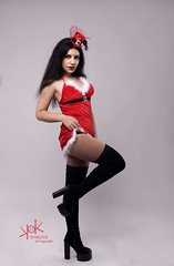 Cool Santa's Sexy Elf: a pinup photoshoot by SpirosK photography with Ailiroy (SpirosK photography) Tags: pinup pinupphotography pinupphotoshoot pinupgirls christmas sexy elves sexyelves red portrait studio christmaspinup ailiroy