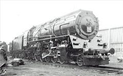 Iran (Persia) Railways - Iranian State Railways Class 52 2-10-2 steam locomotive Nr. 23 (Vulcan Foundry 5984 / 1951) at Gladstone Dock (Liverpool) (HISTORICAL RAILWAY IMAGES) Tags: steam locomotive train railways vf vulcanfoundry iran persia 2102 liverpool