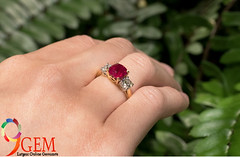 Ruby Ring to make your look (jamesmithaus) Tags: ruby stone price genuine buy online real rings