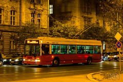 Ikarus 412T (Slobodan Kostić) Tags: budapest bkk bkv publictransport bus opnv autobus busz autobusz masstransit ikarus trolleybus night 412t keleti palyaudvar
