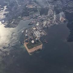 Pupuk Kalimantan Timur aerial (consigliere ivan) Tags: aerial bontang borneo indonesia kalimantan