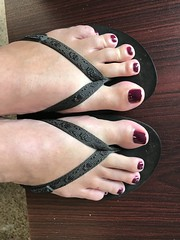 Pedicure (Anna Sunny Day) Tags: pedicure paintedtoes feet toes