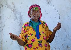 Ethiopian muslim woman praying with basil on her head, Harari Region, Harar, Ethiopia (Eric Lafforgue) Tags: africa african basil celebration ceremony colourimage eastafrica ethiopia ethiopia183081 harar harari harariregion horizontal hornofafrica islam muslim oneadultonly oneperson onewomanonly perfume plant praying religion religious senioradult spirituality sufi sufism traditionalclothing women worship et
