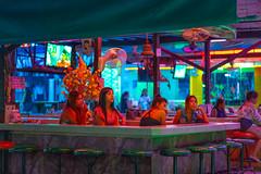 Bar along Beach road, Pattaya, Thailand (CamelKW) Tags: bar beachroad pattaya thailand