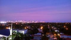 Miami Sunset (MerperC) Tags: miami fl florida skyline buildings sky sunset unitedstates usa us