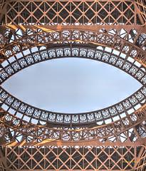 ironworks (albyn.davis) Tags: eiffel ironwork paris manipulation shapes angles geometry geometric architecture architecturalabstract