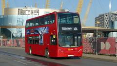 The First Of First (londonbusexplorer) Tags: goahead london dennis trident adl enviro 400 en25 lk57ejn 486 north greenwich bexleyheath shopping centre tfl buses