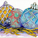Three Tree Ornaments