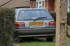 G669 SEW (Nivek.Old.Gold) Tags: 1990 toyota corolla gl 3door 1295cc hallens cambridge