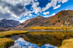 A Cloudy Autumn Day at North Lake (RS2Photography) Tags: reflection 80d colorful fall autumn fallcolors outside natur nature eos naturephotography landscape canon80d canon wallpaper rokinon10mm rokinon mountains water lake sierranevada easternsierras easternsierra bishop macos cloudy clouds northlake